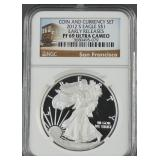 2012-S American Silver Eagle Proof NGC PF 69