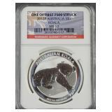 2012-P Australian Silver Koala NGC MS 69