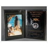 2003 American Silver Eagle Columbia Commemorative