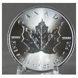 2018 Canadian 1oz. Silver Maple Leaf