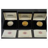 1976 Bicentennial 1oz. Silver and Bronze Medal Set