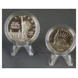 1986 Statue of Liberty Commemorative Coin Set
