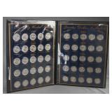 1999-2008 50 State Quarter BU Set in Book