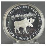 1985 Canada Silver National Parks Dollar