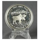 1985 Canadian Silver National Parks Dollar