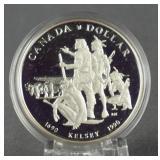 1990 Canada Silver Henry Kelsey Dollar