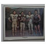 Texas A&M Past Players Autographed Print Poster
