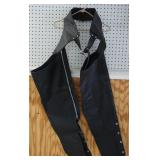 Ladies Leather Motorcycle Chaps