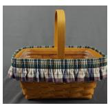 Longaberger 2002 Spring Basket with Handle