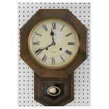Ansonia 31 Day Pendulum School House Clock