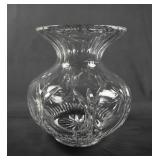 Cut Crystal Large Ladies Spittoon - Vase
