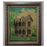 Mary Clifford Original Painting of Victorian Home
