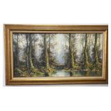 Robert Swanson Original Oil Painting on Canvas