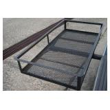 Receiver Hitch Steel Cargo Carrier
