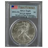 2012-S American Silver Eagle PCGS MS 69