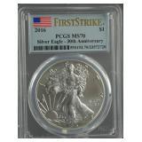 2016 American Silver Eagle PCGS MS 70