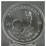 2018 South African Silver Krugerrand