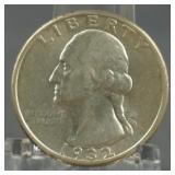 1932 Washington BU Quarter