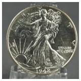 1942 Walking Liberty BU Half Dollar