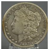 1887-S Morgan Silver Dollar Key Date