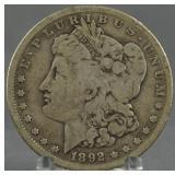 1892-S Morgan Silver Dollar Key Date