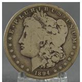 1894-S Morgan Silver Dollar Key Date