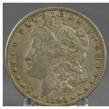1896-O Morgan Silver Dollar AU Key Date