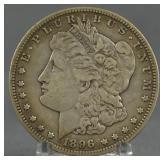 1896-S Morgan Silver Dollar Key Date