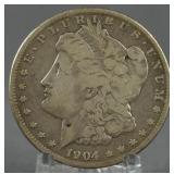 1904-S Morgan Silver Dollar Key Date