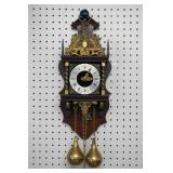 Warmink Uhren Dutch Zaanes Pendulum Clock