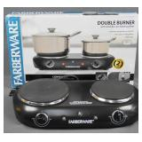 Farberware 1500 Watt Electric Double Burner