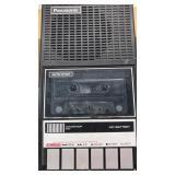 Vintage Panasonic Portable Cassette Recorder /