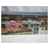 Dickensville Christmas Train in original box