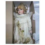 """Porcelain Angel Doll 18"""""""