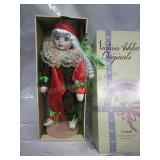 Victoria Ashlea Originals Xmas Clown Porcelain