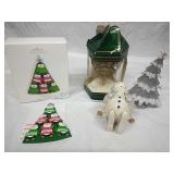 Lenox, Hallmark and Assorted Ornaments