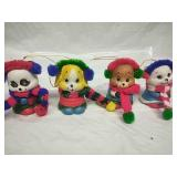 Set of 4 Giftco Ceramic Christmas Bells