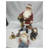 Assorted Santa Decor & Ornament