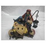 Crazy Mountain Plug in Nativity Scene