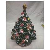 """Vintage Ceramic Xmas Tree 13"""""""