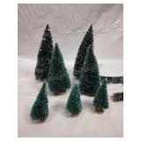 Village Accessories/Decor  - Xmas Trees