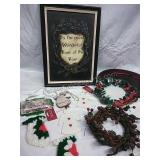 Wall Decor, Charger/Cookie Plates, Ornaments and