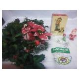 Vintage Music Box, Knick Knacks, Candle and