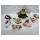 Angel Decor and Assorted Ornaments