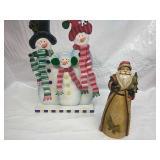 Snowman/Santa Decor