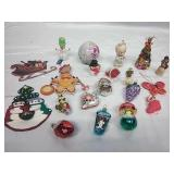 Princess, Precious Moments and Assorted Ornaments