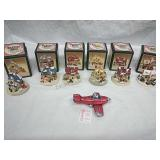 Set of 6 Crystal Falls Village Scenes and