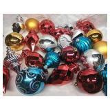 Assorted Large Plastic Ornaments