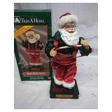 Trim A Home Hula Hoop Santa - Battery Operated,
