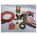 Dog Biscuit Wreath, Dog Stockings,